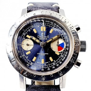 Dreffa Yachting skin diver Chronograph